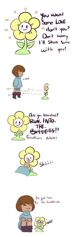 No Time for Talk Flowey by Montemarte on DeviantArt