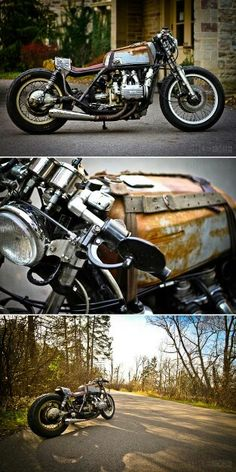 Road Sofa Seat Goldwing Sleeper Twin Leather 7 Best Motorcycles Images Custom Bikes Paul Dutra S Is Not A It Rusty Stripped Down Ratbike With Hand Beaten Bodywork And Pannier In Sight