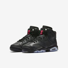new product 62e50 cda00 Air Jordan Retro 6 Older Kids  Shoe Jordan Retro 6, Jordan 23 Black,