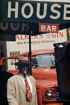 Harlem, New York, United States, 1960, photograph by Saul Leiter.