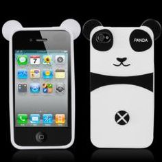 Very lovely and interesting Design, build your personal Style! it is a very wonderful case cover for your iPhone 4S.  White Blank Panda Boy Case Cover Skin for iPhone 4S 4GS $2.89