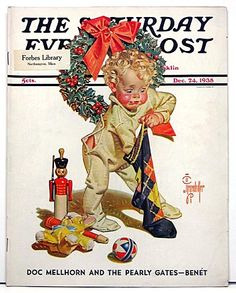 Vintage Saturday Evening Post 1938 from the year my house was built.