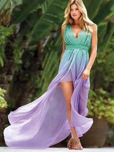 Ombré Maxi Dress, gorgeous