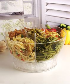 Look at this Quartered Dip Center Serving Bowl & Lid on #zulily today!