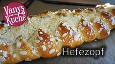 Oster-Hefezopf im Thermomix® - Rezept von Vanys Küche Make It Yourself, Desserts, Food, Youtube, Bakken, Challah, Play Dough, Tailgate Desserts, Deserts
