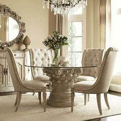 Ashley Furniture Glass Dining Sets the ortanique dining table from ashley furniture homestore (afhs