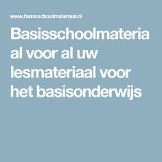 Basisschoolmateriaal voor al uw lesmateriaal voor het basisonderwijs