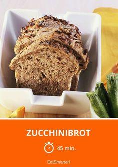 Zucchinibrot Rezept für saftiges und gesundes Brot | Zeit: 45 Min. | eatsmarter.de