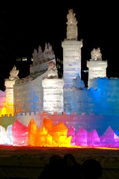 Sapporo Snow Festival: Ice and snow sculptures, snowboarding, and winter foods—it's an extreme winter experience, rendered Japanese style.