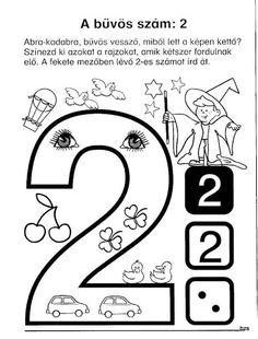 Képről képre - Játék és számok - Kiss Virág - Picasa Web Albums School Worksheets, Alphabet Worksheets, Math Numbers, Letters And Numbers, Kindergarten Math, Grade 1, Math Activities, Homeschool, Clip Art