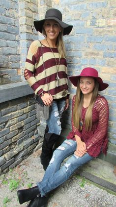 When I was at Magic (the premier fashion mart in America) it was 115 degrees out and EVERY young girl was wearing a floppy brimmed felt hat! Another fashion must have from My Secret Garden $24.99   Secret Garden