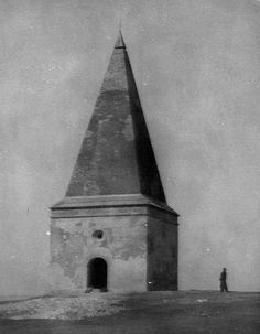 The Arian Tower in Krynica was built in the beginning of the 17th century. It is the oldest tomb in Poland with a pyramid-shaped structure on top. Image credit: S. Zelisko via Science in Poland
