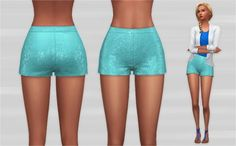 Veranka: Party shorts • Sims 4 Downloads