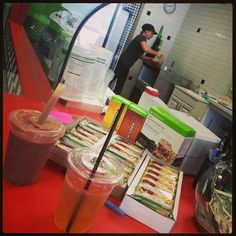 Lunch time at Plano nutrition with Michelle