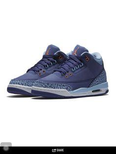 Jordan 3s Dark Purple Dust!!