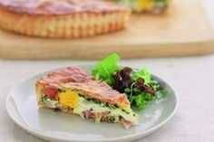 Best ever bacon and egg pie – Recipes – Bite