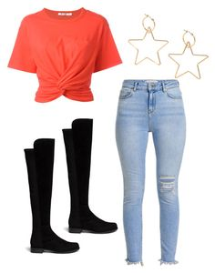 """""""Mila's casual wear"""" by pantsulord on Polyvore featuring T By Alexander Wang and Stuart Weitzman"""