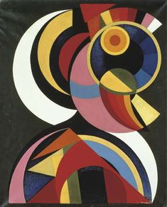 http://UpCycle.Club UpCycle Art & Life #HistoryProject presents 'Réalité spirituelle' (1940) by Auguste Herbin @upcycleclub
