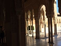 At Alhambra, España