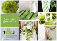 Winner of UKAWEP Pantone® mood board competition | uk wedding blog | providing inspiration for wedding and special occasions in Oxfordshire Cotswolds | Pantone | greenery | SS17