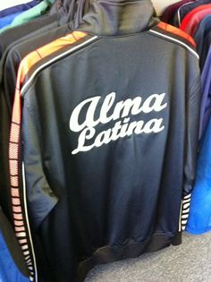 custom embroidered jacket backs for the alma latina dance group these folks are smokin
