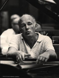 Sviatoslav Richter (1915 – 1997) was a Soviet pianist well known for the depth of his interpretations, virtuoso technique, and vast repertoire. He is widely considered one of the greatest pianists of the 20th century.