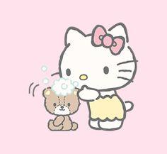 A panda's love for Hello Kitty - mischkascuteworld: Hello Kitty! ♥ [ Pt. 1]