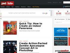 psdtuts.com #design #creative #art #photoshop #tutorials