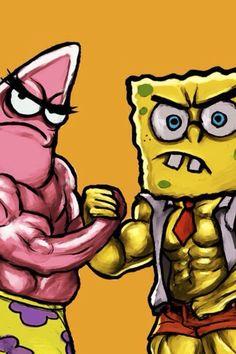 Spongebob sandy gym porn