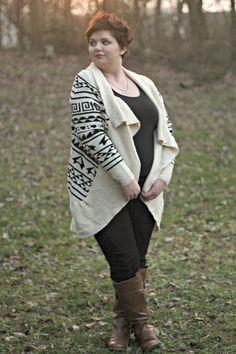 Weekend Wear: Geo Print Sweater