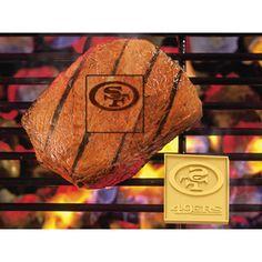 San Francisco 49ers NFL Fan Brands Grill Logo