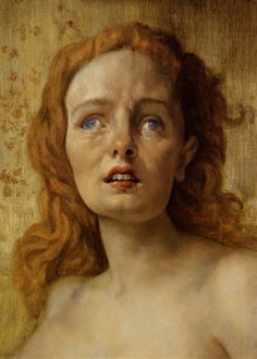 #portrait #painting The Clairvoyant (2001) – John Currin...