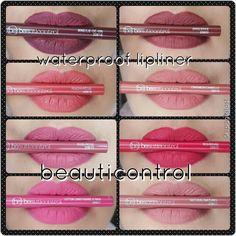 #beauticontrol #makeup #waterprooflipliner use alone or under lip colors to have long wearing lip color.  Www.beautipage.com/spagirl_lauren