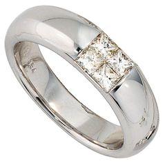 Dreambase Damen-Ring 4 Diamanten 14 Karat (585) Weißgold 0.54 ct. 56 (17.8) Dreambase http://www.amazon.de/dp/B00AEESQ7G/?m=A37R2BYHN7XPNV