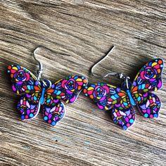 Butterfly Earrings instagram @madamtaktuk