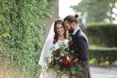 Black Tie Halloween Wedding Inspiration | Ruffled - Weddbook