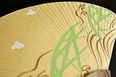 唐船屋オリジナル団扇 千鳥(丁字) 送料無料キャンペーン中!2014年8月末日まで。