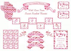 Vintage cupid FREE Valentine's Day Printables from Sweet Scarlett Events