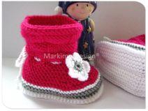 Ostern Baby Geschenk Babyschuhe Socken Gr. 14