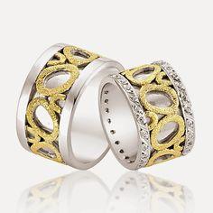 Avem cele mai creative idei pentru nunta ta!: #1021 Bangles, Bracelets, Mai, Wedding Rings, Engagement Rings, Jewelry, Fashion, Enagement Rings, Moda
