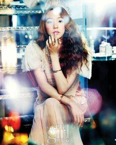 SNSD Tiffany Vogue Girl Magazine