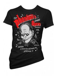 Women's Phantom T-Shirt - Black