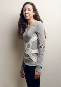 """back brace offers """"fashionable"""" solution for scoliosis sufferers Back Brace Scoliosis, Orthotics And Prosthetics, Underwear, Compression Stockings, Braces, 3d Printing, Graphic Sweatshirt, T Shirts For Women, Pullover"""