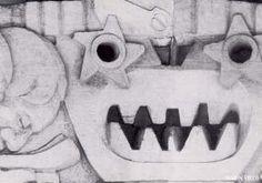 La tecnología Convertida en Monstruo. Detalle de Los Artesanos y la Industria.1966  Jorge Marin Vieco