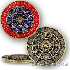 Time and Space geocoin - bronze