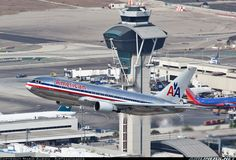 American Airlines  Boeing 767-223/ER  (airliners.net). I miss being a flight attendant  sometimes.