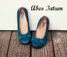 @abeofootwear Tatum. A ballet flat with arch support!
