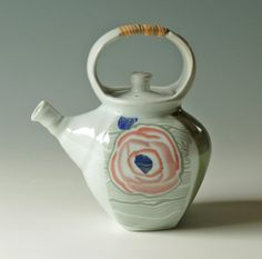 The Teapots of the Autumn Masters by Janet Kozachek on Etsy Chester County, Masters, Beautiful Flowers, Tea Pots, Cups, Porcelain, Autumn, Artists, Unique Jewelry