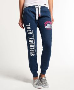 Womens - State Athletics Track & Field Joggers in Ensign Marl | Superdry