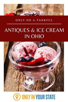 Discover Ohio's best antique shops and most delicious ice cream on this fun, flavorful road trip. Tasty Ice Cream, The Buckeye State, Covered Bridges, Antique Shops, Day Trip, Road Trips, Vacations, Ohio, Bff